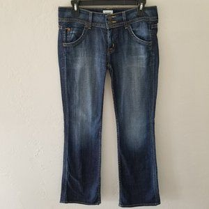 Hudson Jeans 28 Medium Wash Boot Cut Flare Cotton
